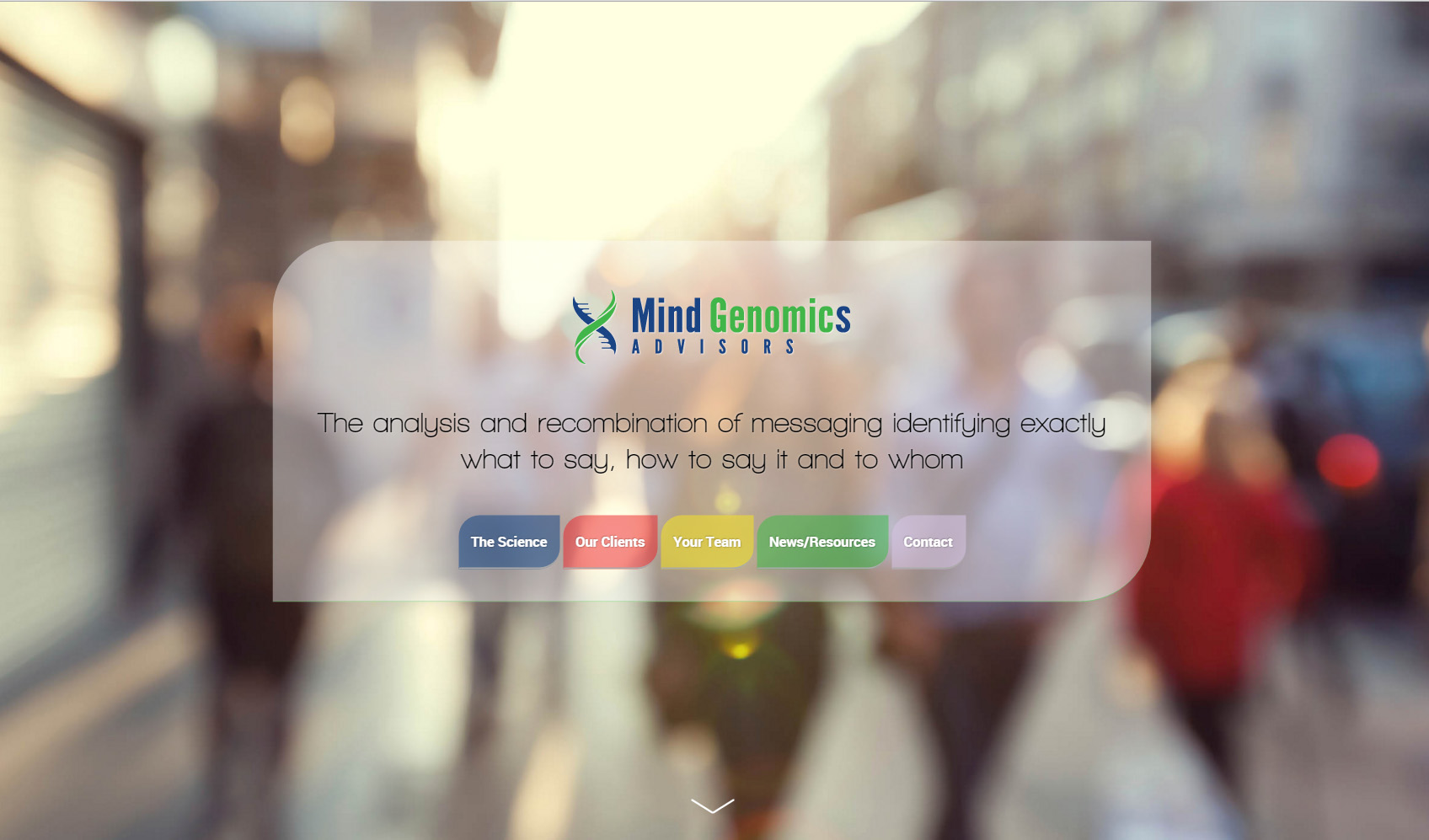 Mind Genomics